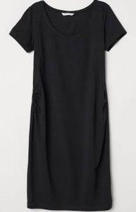 H&M mama maternity black dress